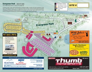 Evergreen Park Map