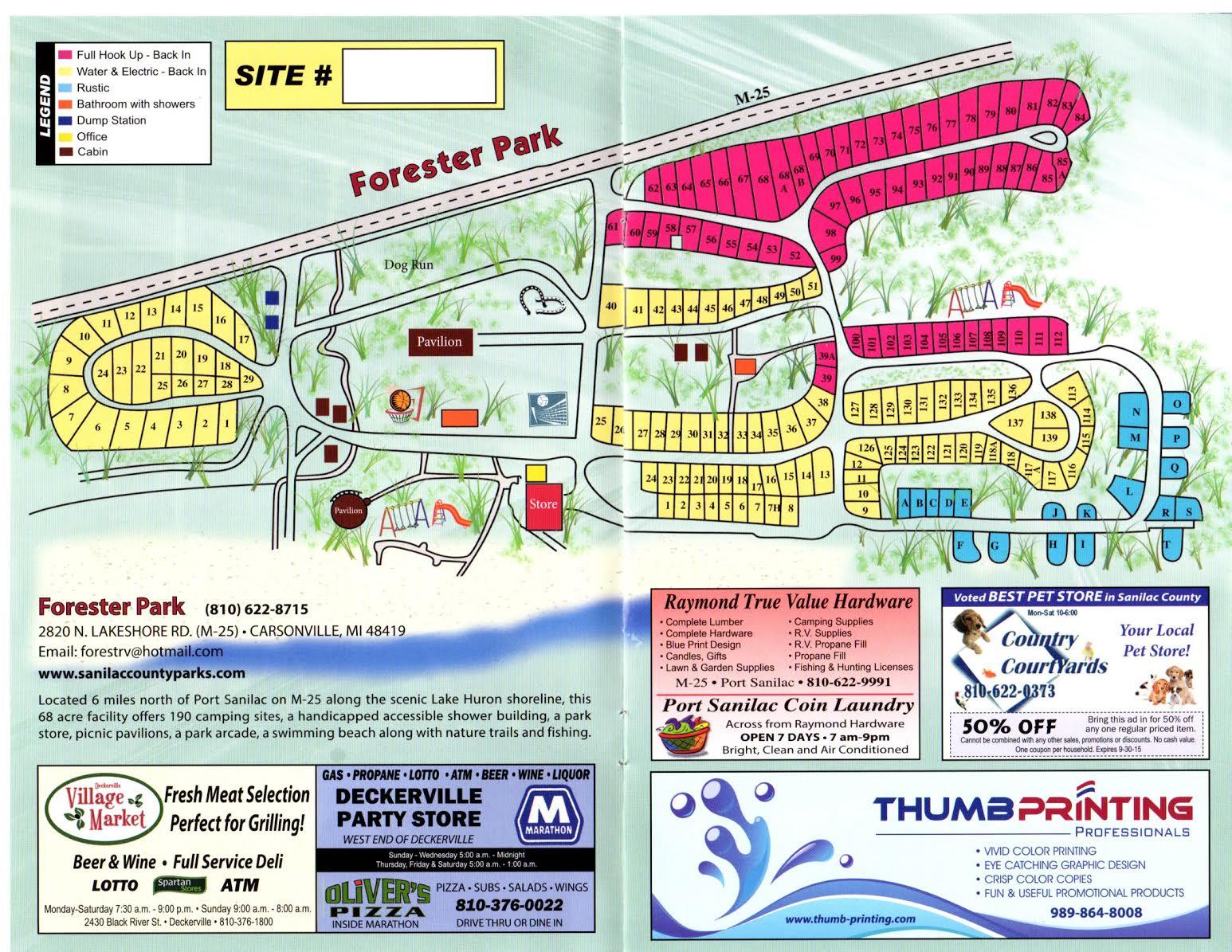 Michigan sanilac county lexington - Home Rates Rules Photos Directions Park Map