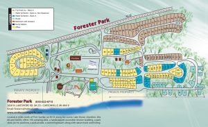 Forester Park Map 2019