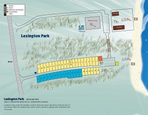 Lexington Park Map